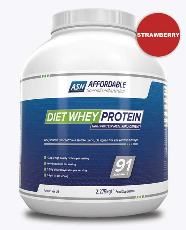 ASN Diet Whey Strawberry