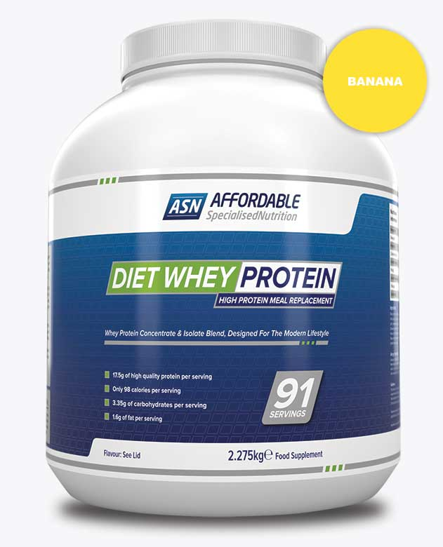 ASN Diet Whey Banana