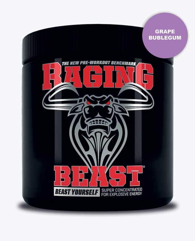 Raging Beast Grape Bubblegum