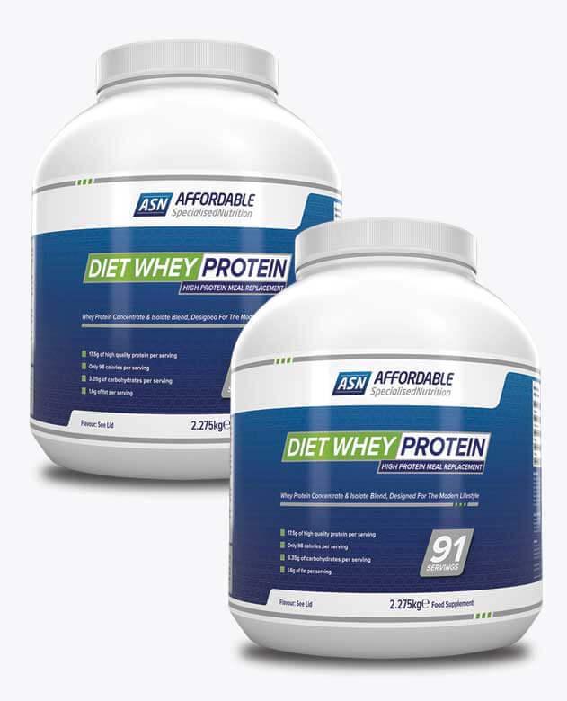 2 x Diet Whey Protein