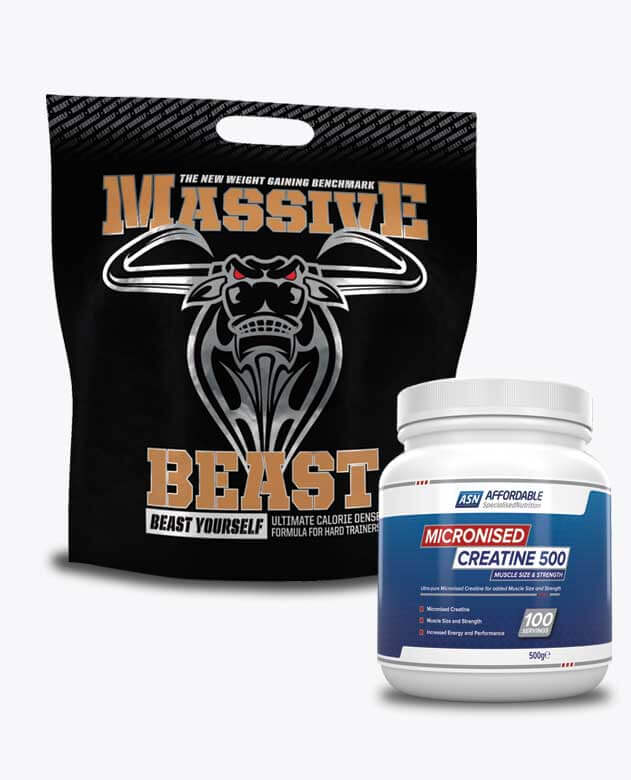 Massive Beast + ASN Creatine Monohydrate
