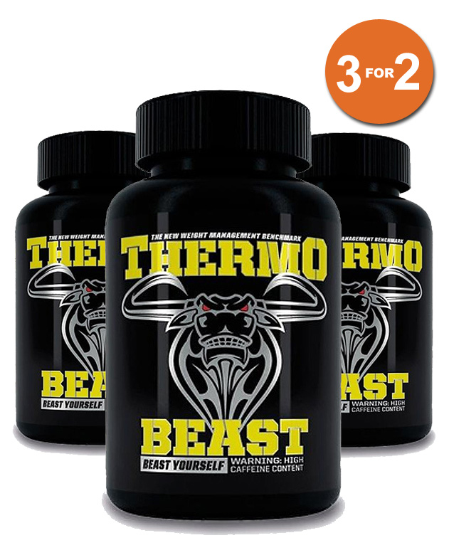 3 For 2 Thermo Beast – 120 Vegi-Caps