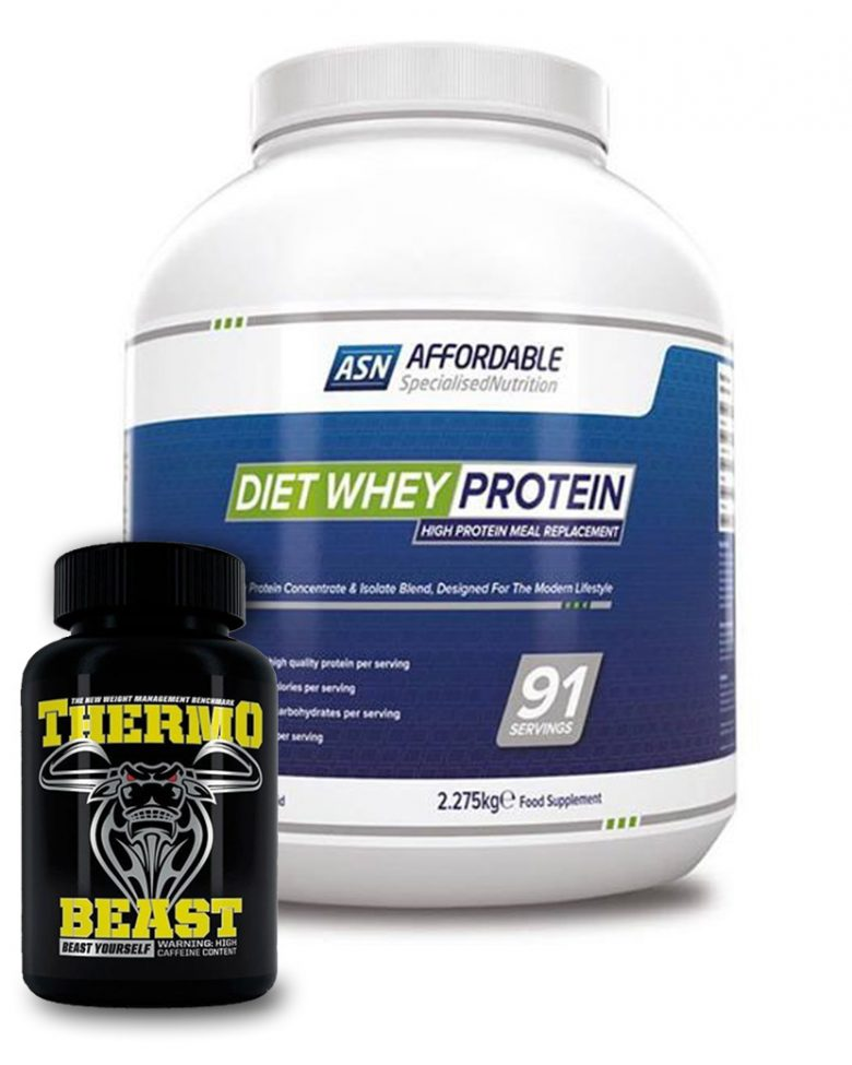 Diet Whey 2.275KG + Thermo Beast 120 Caps